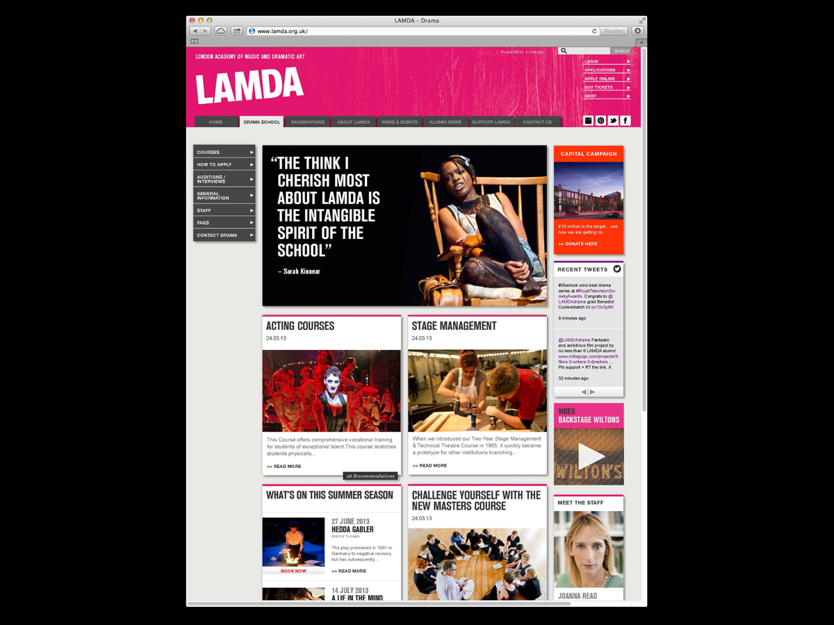LAMDA Website